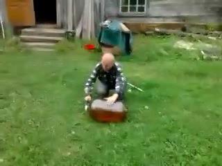 Попили бражки