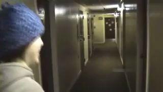 Зима,  за дверью -60 С