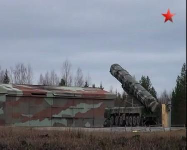 Учебно-боевой пуск ракеты «Тополь»