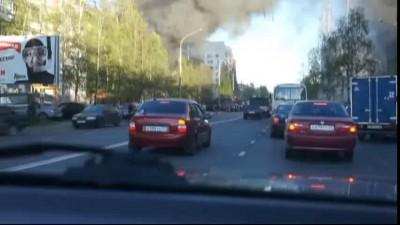 Взрыв зоомагазина в Архангельске (видео не мое)