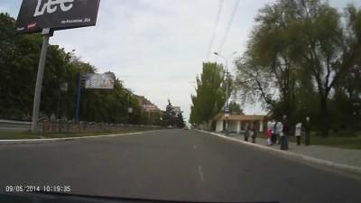 """парад"" в Мариуполе"