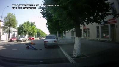 04 июня 2013, ДТП с мотоциклистом, город Владимир