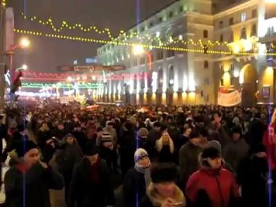 Выборы в Беларуси акция протеста