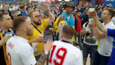 We hate Russia - english fans on Euro2016