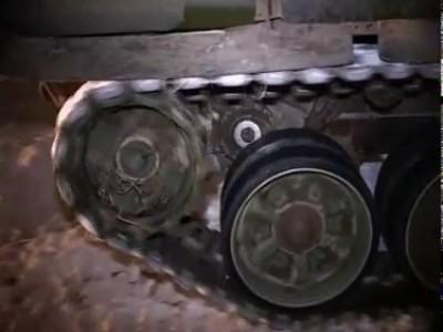 Снегоочистительный танк