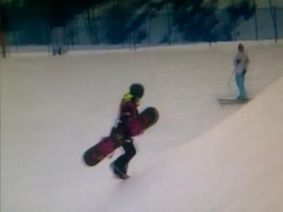 Анна гасер в сноуборде курьез на ОИ Сочи