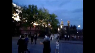 НЛО возле Кремля