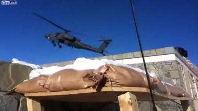 Падение вертолета Apache в Афганистане