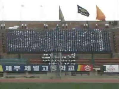Корейские болельщики