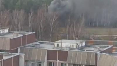 Упал вертолет при посадке в Жулебино