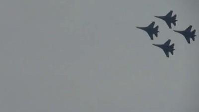 Лётчики над Пучково 12.03.