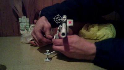 Пушка Hand Made