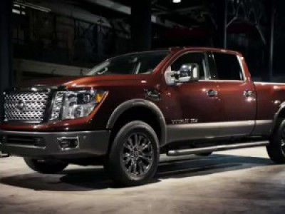 2017 Nissan TITAN XD Rezension #titan