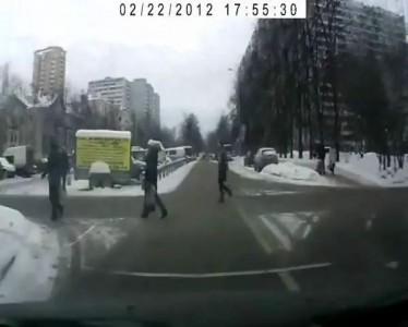 Про Пешеходов и Водителей