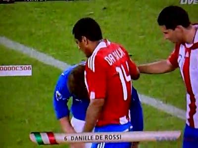 Daniele De Rossi - симулянт