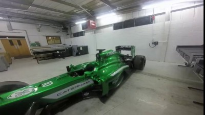 Lot4482 A CATERHAM F1 2013 Formula 1