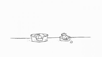 Simon's Cat in 'Catnap'