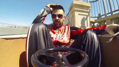 Ken Box Crazy Cart Gymkhana - A Tribute to Ken Block (gymkhana parody)