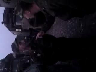 Драка с подполковником