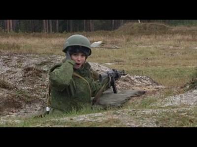 Телеведущая Вера Кириенко впервые стреляет из автомата