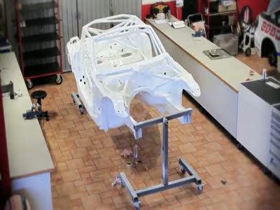 Как собирают BMW Z4 E89 GT3