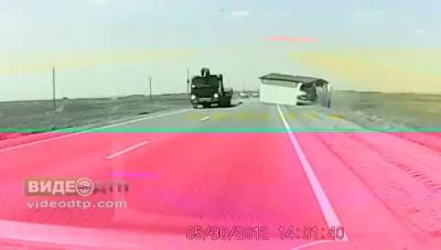 На наших дорогах бывает и такое