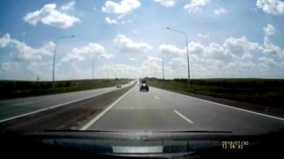 Авария на трассе Караганда - Темиртау