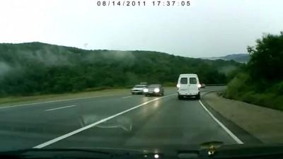 Авария по дороге на море
