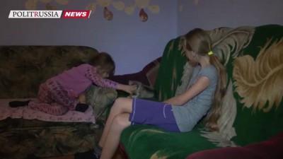 Школьница из Хакасии получила от Путина подарок - щенка хаски