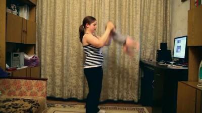 Лейла - Гимнастика для малышей