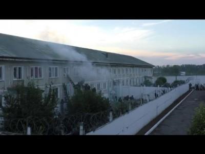 Бунт здания в хакасской колонии