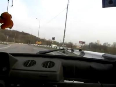 Бодрая Ока с мотором от байка на МКАДе