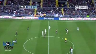 Full HD Malaga Vs Barcelona [ 1-3 ] all goal & highlights 13/01/2013