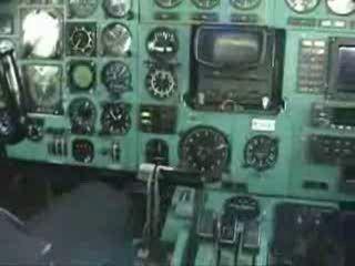 Заход ТУ-154