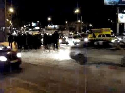 Пешеходы не пропустили кортеж губернатора