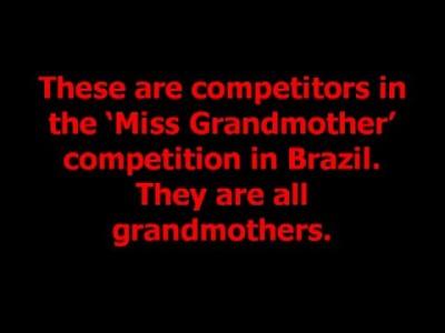 Конкурс бабушек в Бразилии
