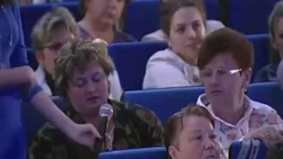 ВРИО Губернатора Подмосковья Единоросс Андрей Воробьев хамит в прямой эфире