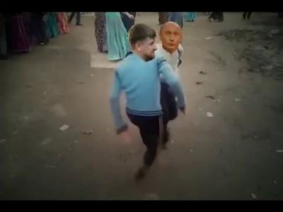 Путин приехал к Кадырке