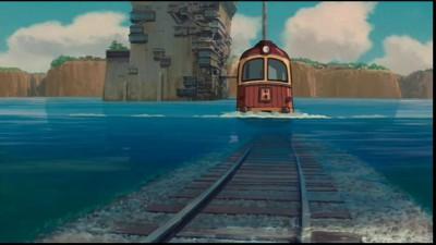 Унесенные призраками - Поезд