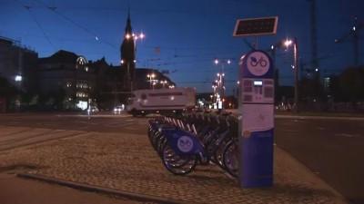 Варшавский городской велосипед