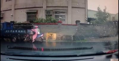 ТП на скутере чуть не самоликвидировалась ...