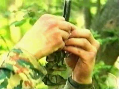 Как одеть камуфляж на винтовку 1
