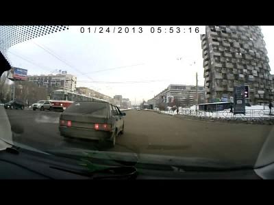 Авария в Самаре