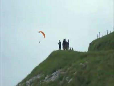 Shocking Paraglider Accident