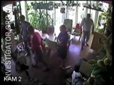 Обыск частного дома в Ялте