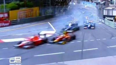 Завал в GP2 Monaco 2013