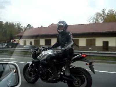 Безумный мотоциклист