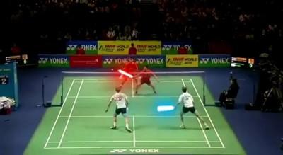 Джедаи и теннис