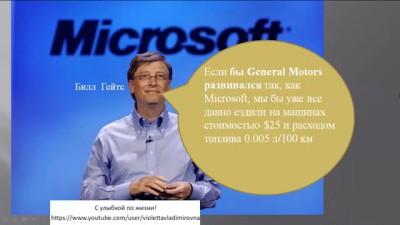 Что было бы, если бы компания Microsoft выпускала автомобили