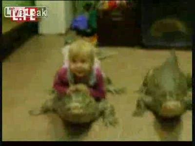 Папа, купи крокодила Гену!